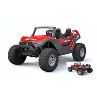 Детский электромобиль Джип Buggy (Багги) с MP4 монитором Bambi M 4170(MP4)EBLR-3 красный
