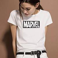 Женская футболка  Marvel
