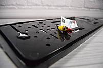 Камера Заднего Вида в Рамке Автомобильного Номера - Черная, фото 6