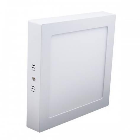 Светодиодный светильник 18W накладной квадрат 4500K Z-light ZL2011, фото 2