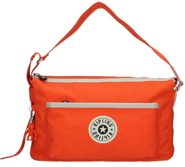 Женская сумочка на плечо Kipling K.Origin FC красная