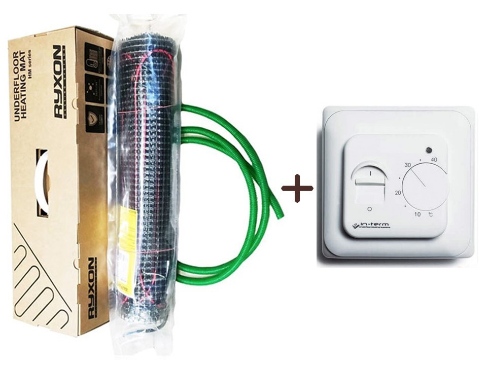 Защита от электромагнитного излучения тонкий мат Ryxon HM-200 (1.5м.кв) 300 вт  Серия RTC 70.26