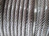 Нержавеющий трос с прозрачным ПВХ покрытием, фото 3