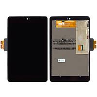 Дисплейный модуль для планшета Asus Nexus 7 2012 ME370 ME370T, черный