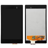 Дисплейный модуль для планшета Asus Nexus 7 2013 2Gen ME571K, ME571KL, ME572C, черный