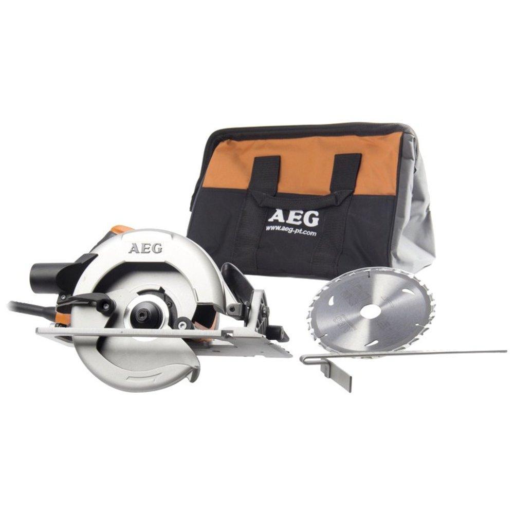 Пила дисковая AEG KS 66-2 (+сумка)