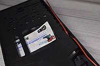 Камера заднего вида в рамке автомобильного номера с LED подсветкой Черная, фото 6