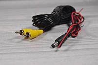 Камера заднего вида в рамке автомобильного номера с LED подсветкой Черная, фото 7