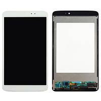 Дисплейный модуль для планшета LG G Pad 8.3 V500, белый