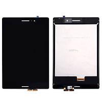Дисплей с тачскрином для Asus ZenPad S 8.0 Z580CA, шлейф 27мм, черный, экран с сенсором