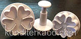 Плунжер   Цветок 5 лист 3 шт (кнопка), фото 7