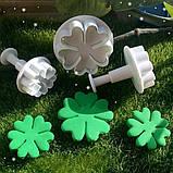 Плунжер   Цветок 5 лист 3 шт (кнопка), фото 6