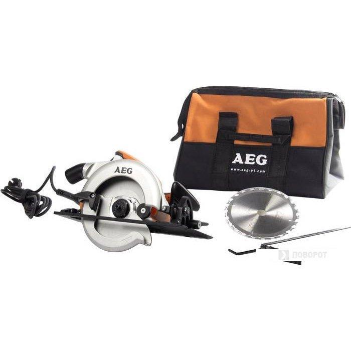 Пила дискова AEG KS 55-2 (+сумка)