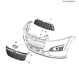 Эмблема решетки радиатора Каптива С140, Chevrolet Captiva C140, 95326562, фото 4