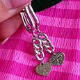 Серебряные серьги Тиффани сердечки - Серьги Сердце серебро, фото 3