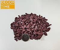 Декоративный цветной щебень (крошка, гравий) , черный (073672) Фиолетовый