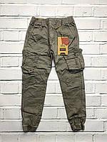 Катоновые брюки для мальчиков. 134- 140 рост.
