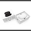 Беспроводные стерео наушники Gorsun V7 Bluetooth + бокс БЕЛЫЕ, фото 2