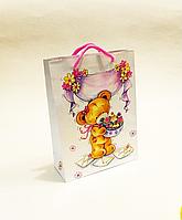 Бумажный подарочный пакет 18х24х7см / уп-12шт сладость