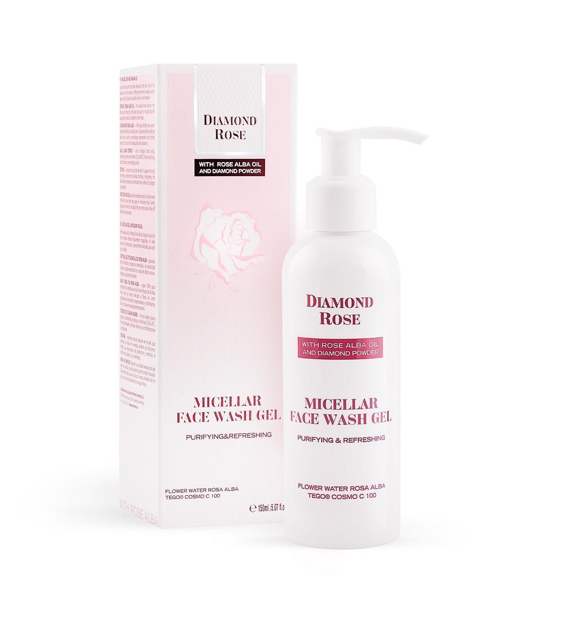 Мицеллярный гель для умывания/Micellar face wash gel Diamond Rose