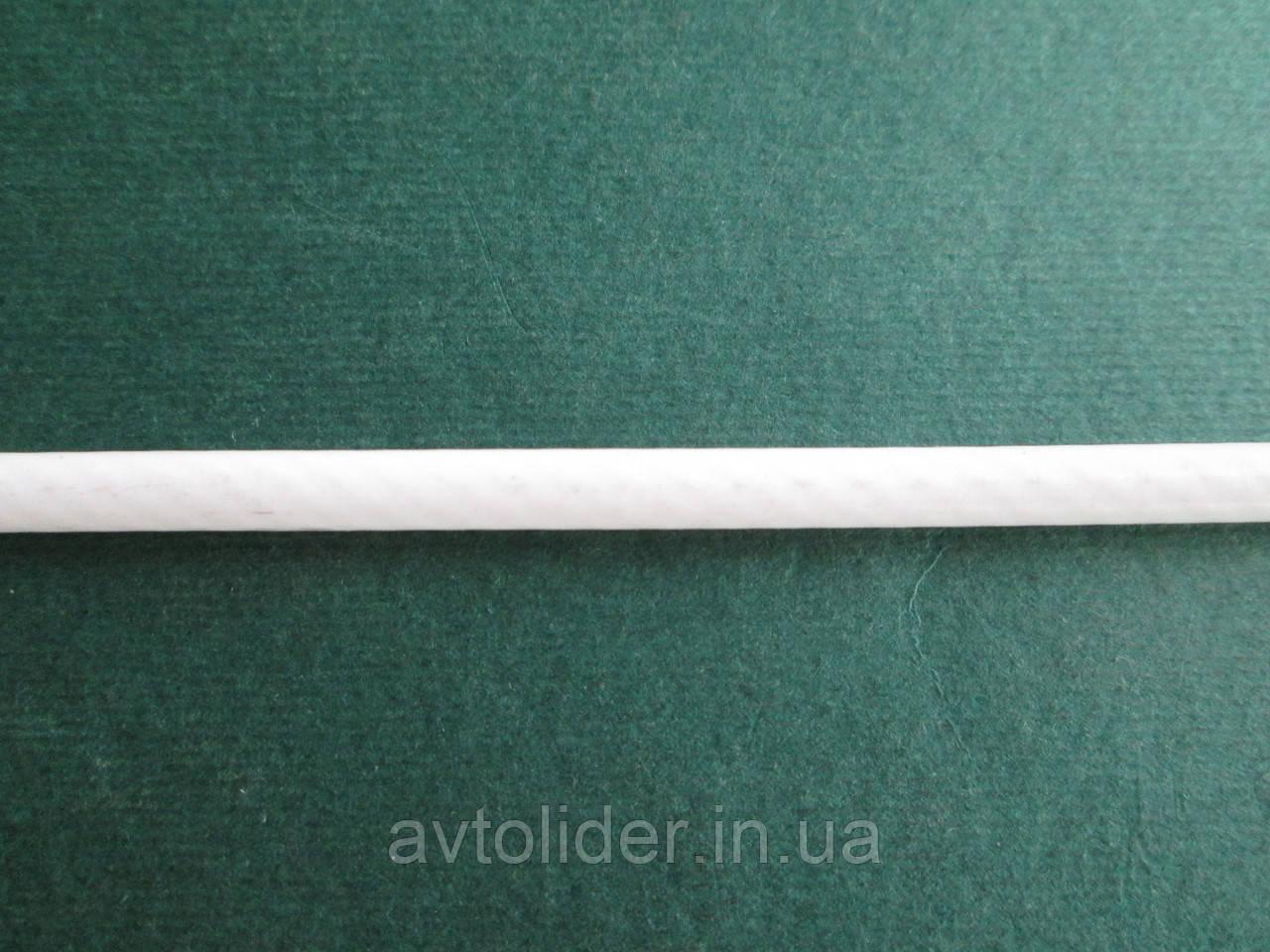 Нержавіючий трос з білим покриттям ПВХ