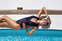 Купальник  синий слитный Marc&Аndre 2020