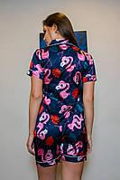 Фламинго с рубашкой темно-синее, фото 2