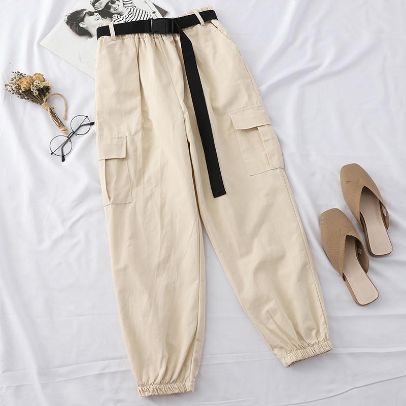 Молодежные женские брюки спортивного стиля 42-44 (серые)