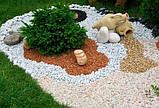 Декоративний кольоровий щебінь (крихта, гравій) , коричневий (10211), фото 8