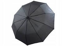 Мужской зонт складной R&B RB-241 на 10 спиц автомат черный