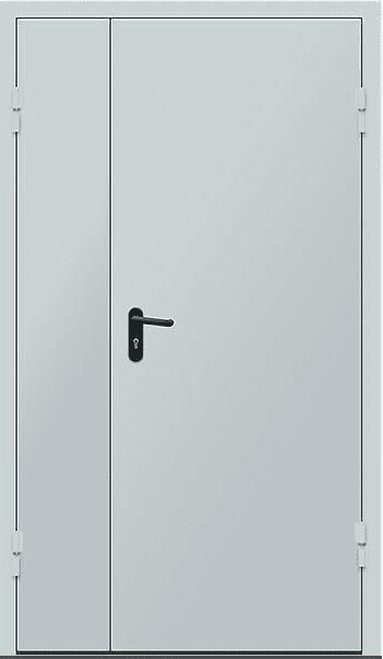 """Двери противопожарные двустворчатые ЕІ-30 2050х1200 мм серии """"Щит 2"""""""