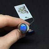 Лабрадор кольцо с натуральным лабрадором в серебре кольцо с лабрадором кольцо лабрадор 18 размер Индия, фото 2