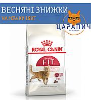Сухой корм Royal Canin FIT для взрослых энергичных котов от 1 года, 10 кг