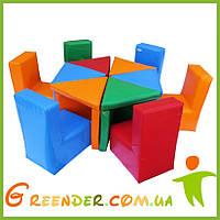 Детская игровая мягкая комната KIDIGO Цветик