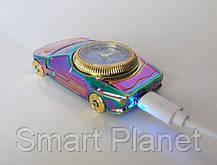 Электрическая USB Зажигалка с Часами, фото 3