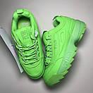 Fila Disruptor 2 Green Neon, фото 3