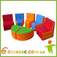 Детская игровая мягкая комната KIDIGO Уголок