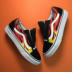 Vans Old Skool Black Burn