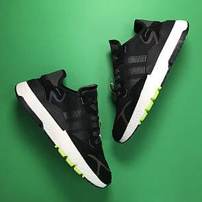 Adidas Nite Jogger Black White
