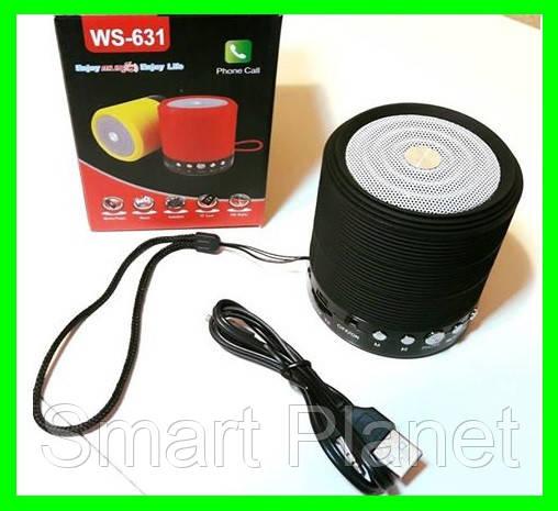 Мобильная Bluetooth-FM-Колонка - 631 (Видео Обзор)