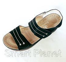 Женские Сандалии Босоножки Летняя Обувь на Танкетке Платформа (размеры: 38), фото 3