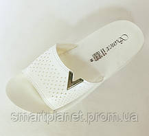 Женские Тапочки Шлёпанцы SANEX Сланцы Вьетнамки Белые (размеры: 36), фото 3