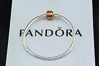 Серебряный браслет Pandora Пандора Оригинал с сертификатом серебро 925 проба основа с замком Pandora Rose, фото 1