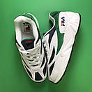 Fila Venom White Green, фото 3
