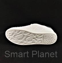 Женские Кроссовки Слипоны Белые Мокасины (размеры: 37), фото 2