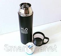 Металлический Термос 500ml с Чашкой, фото 2