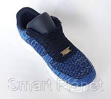 Кроссовки Wonex - 81 NAVI Синие Мокасины  (размеры: 37), фото 2