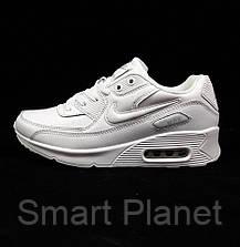 Кроссовки Женские N!ke Air Max 90 Белые (размеры: 39) Видео Обзор, фото 2