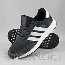 Кроссовки Мужские Adidas Iniki Runner Boost Серые Адидас (размеры: 44) Видео Обзор, фото 2