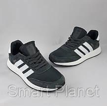 Кроссовки Мужские Adidas Iniki Runner Boost Серые Адидас (размеры: 44) Видео Обзор, фото 3